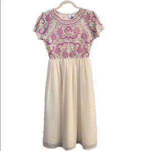 ASOS Maternity Short Sleeve Embellished Dress